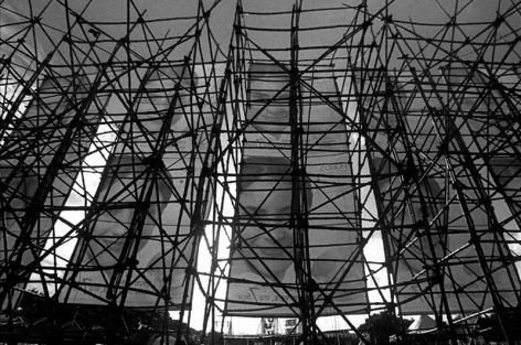 Sanjeet Chowdhury  Bamboo Structures  2009  C-print on photographic paper  24 x 30 in.