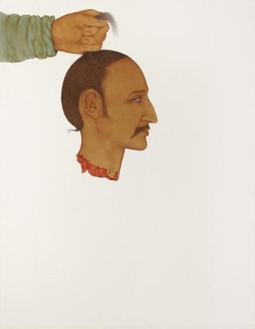 Muhammad Zeeshan SPECIAL 'SIRI' SERIES 4 2011 Gouache on wasli 26 x 20 in