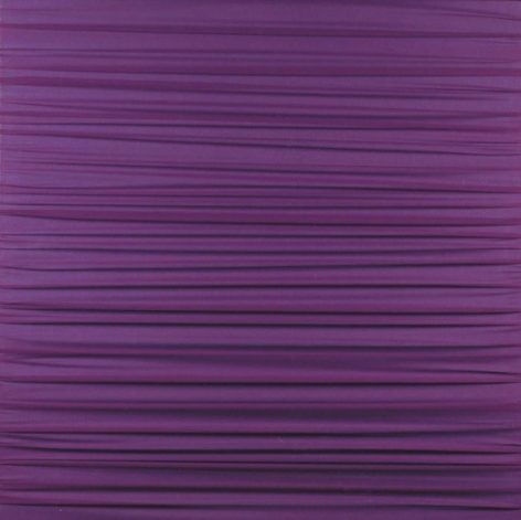 Shobha Broota THE RECEDING SUN 2006 Fabric on canvas 30 x 30 x 1 in.