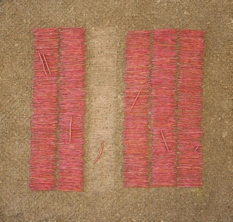 Yogesh Kasera SHADOW IN CONVERSATION 3 2007 Paper pulp 23 x 24 in.