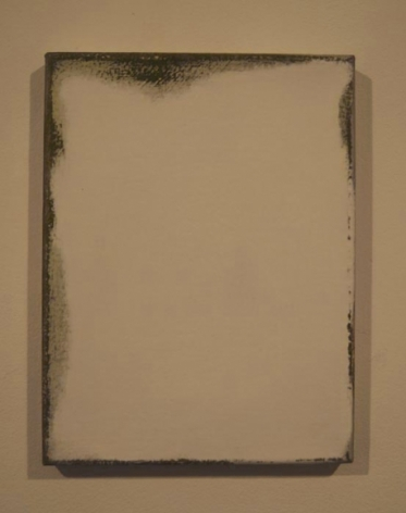 Saad Qureshi IT IS NOTHINGNESS LEADING US TO NOTHING 2010 Oil on canvas 12 x 9 in.