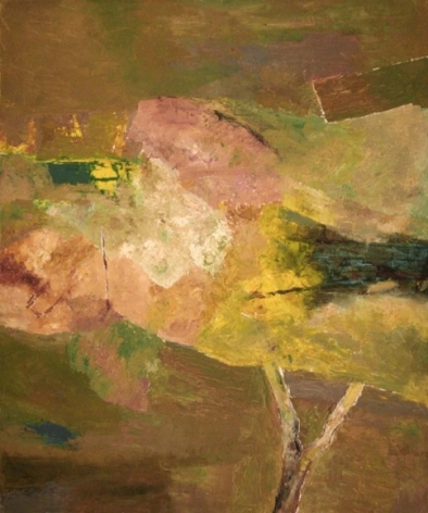 Ram Kumar UNTITLED ABSTRACT 8 2007 Oil on canvas 36 x 30 in.  NFS