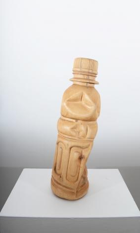 Debanjan Roy UNTITLED (WATER BOTTLE) 2013 Wood 20.5 x 6.5 x 6 in.