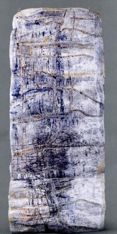 Jayashree Chakravarty UNTITLED (SCROLL) ND Acrylic and glue on multi-layered paper 136 x 50 in.