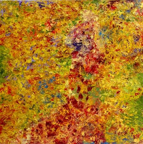 Sharmistha Ray FIELDS OF GOLD #2 2013 Oil on linen 60 x 60 in.
