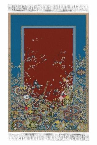 Saks Afridi Gravity Rug 2016 Handmade wool rug 114 x 70 in.