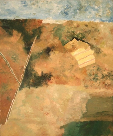 Ram Kumar UNTITLED ABSTRACT 7 2006 Oil on canvas 36 x 30 in.