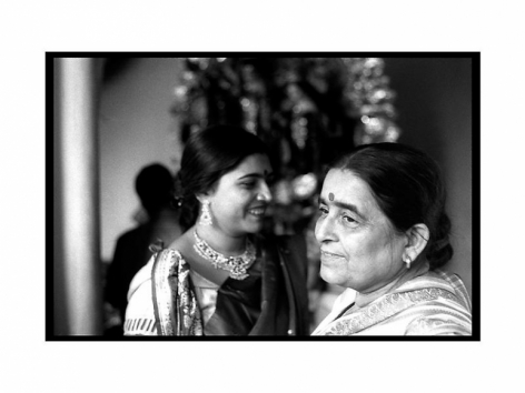 Sanjeet Chowdhury DIPTA AND HER MOTHER AT THEIR ANCESTRAL HOME DURING 180 OLD DURGA PUJA 2009 C-print on photographic paper 16 x 24 in.