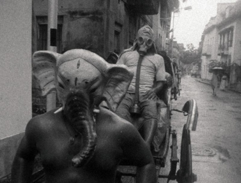 Ashish Avikunthak Still from Vakratunda Swaha 2010 35 mm film 21 min.