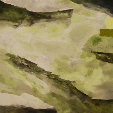Ram Kumar Untitled Abstract 14 2011 Oil on canvas 36 x 36 in. NFS