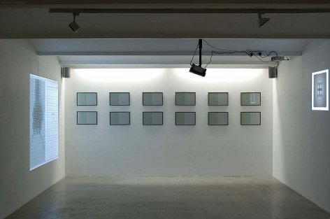 Justin Ponmany  Installation View