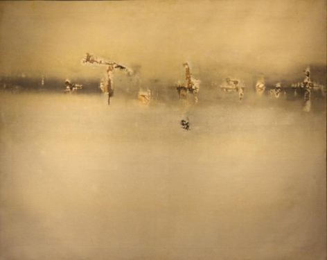 Vasudeo Gaitonde PAINTING NO. 3 1962 Oil on canvas 40 x 50 in.