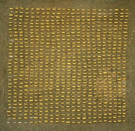 Yogesh Kasera SHADOW IN CONVERSATION 2 2007 Paper pulp 24 x 24 in.