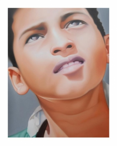 Riyas Komu BORIVALI BOY II 2008 Oil on canvas 60 x 48 in. NFS