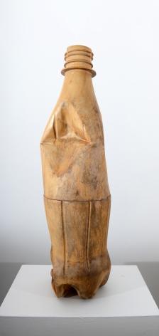 Debanjan Roy UNTITLED (SODA BOTTLE) 2013 Wood 30 x 8.5 x 7.5 in.