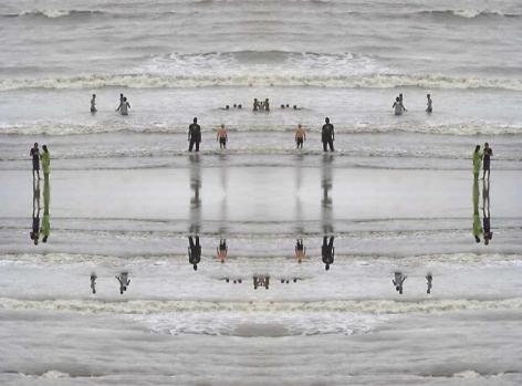 Darshana Vora WATER OVER WATER 1 (COMPLEXITY SERIES) 2009 Digital print on hahnemuhle paper 48 x 60 in.