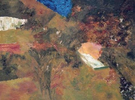 Ram Kumar Untitled Landscape 6 2008 Oil on canvas 36 x 48 in. NFS