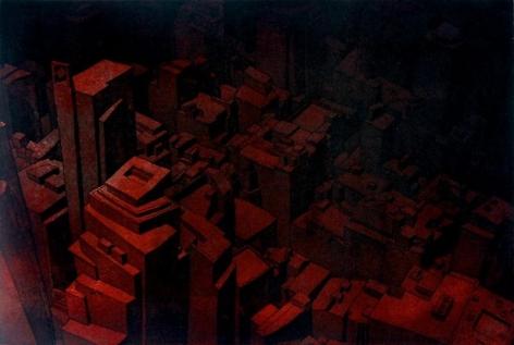 Damon Kowarsky SYDNEY 2008 28 x 45 cm.