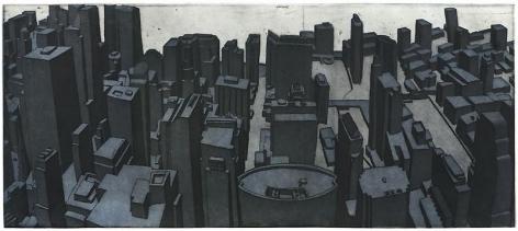 Damon Kowarsky CHI TOWN 2011 22.5 X 51 cm.