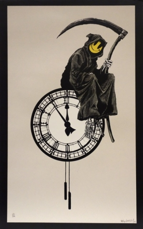 Banksy, Grim Reaper, Screenprint, 2005