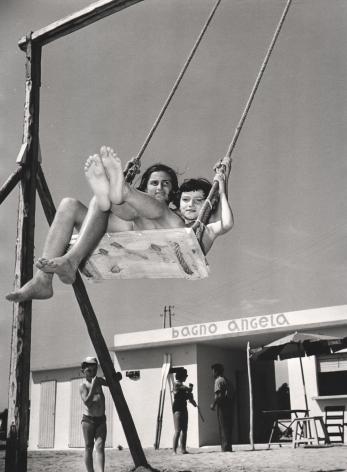 Nino Migliori,Bimbi al Mare,1954