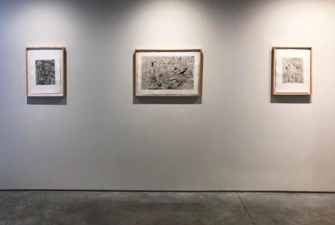"""""""Jackson Pollock: The Graphic Works,"""" Washburn Gallery, January 17 - March 9, 2019"""
