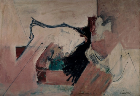 Escape Plan, 1958, oil on canvas, 40 x 58 in.