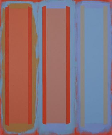Shames Choice, 1995, acrylic on canvas, 68 x 56 in.