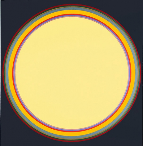 Disc #12, 1970, acrylic on canvas, 70 x 68 in.