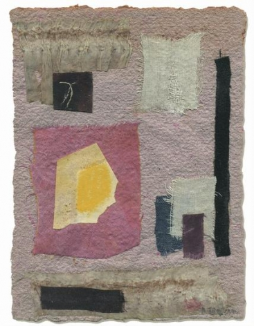 Untitled (no. 179), c. 1948-54, collage, 8 7/8 x 7 3/8 in.