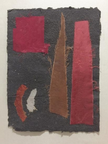 Untitled (no. 487), c. 1948-54, collage, 12 x 9 in.