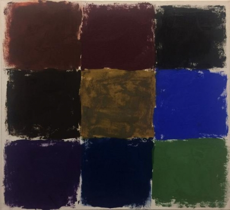 Untitled, 1964 oil on canvas, 22 x 24 in.