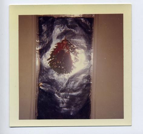 Christmas Door, 1960s, 3 1/2 x 3 1/2 in.