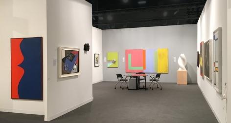 Washburn Gallery Booth at Art Basel Miami Beach