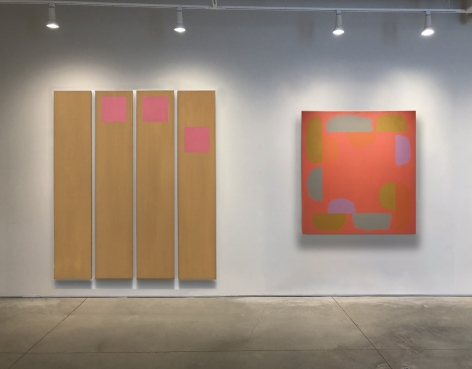 "No. 5 (From left) Doug Ohlson, ""Slip,"" 1967, acrylic on canvas, 90 x 87 in."