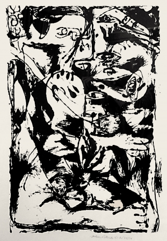 Untitled (After CR#340), 1951, Screenprint, ed. 16/25