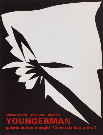 """Galerie Adrien Maeght, """"Youngerman: Lithographies, Gravures, Dessins,"""" 1966"""