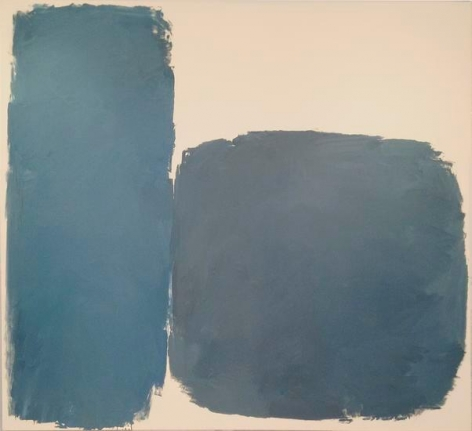 Untitled, 1961, oil on canvas, 79 x 87 in.