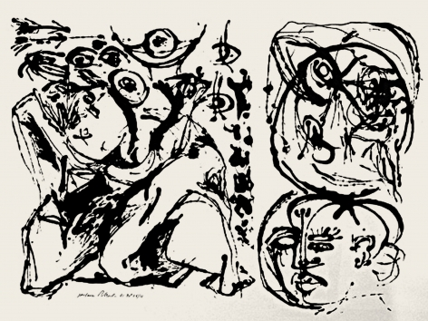 Untitled (After CR#328), 1951, Screenprint, ed. 16/25