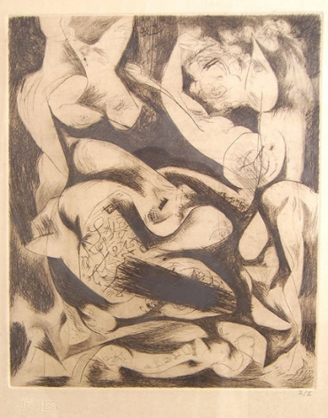 Untitled, CR#1074 (P14), c. 1944 (printed posthumously in 1967)