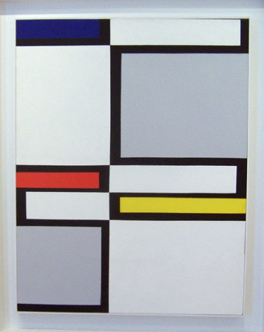Diagonal Passage #9, 1949, oil on canvas, 46 x 36 in.