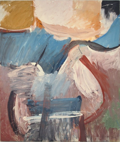Untitled, c. 1957, oil on canvas, 78 x 63 1/2 in.