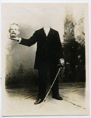 Headless Man, 1920s, 3 3/16 x 4 2/16 in.