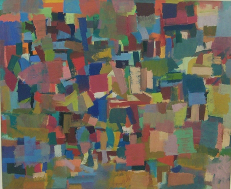 Untitled, 1954, oil on canvas, 43 1/2 x 52 1/4 in.