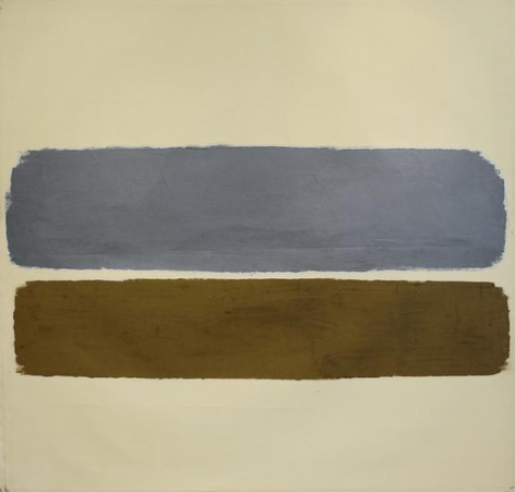 Untitled, 1962, oil on canvas, 66 x 69 1/2 in.
