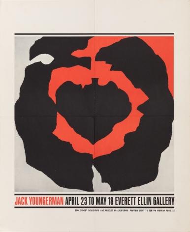 """Everett Ellin Gallery, """"Jack Youngerman,"""" 1963"""