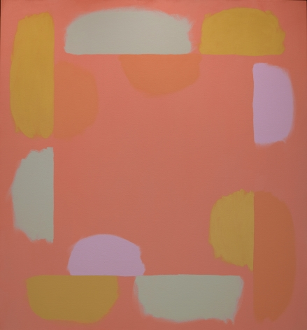 Untitled, c. 1976-77, oil on canvas, 55 x 51 in. by Doug Ohlson