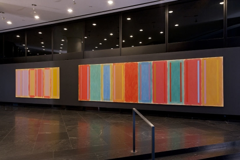Installation view, The Lobby Gallery, 499 Park Avenue, New York
