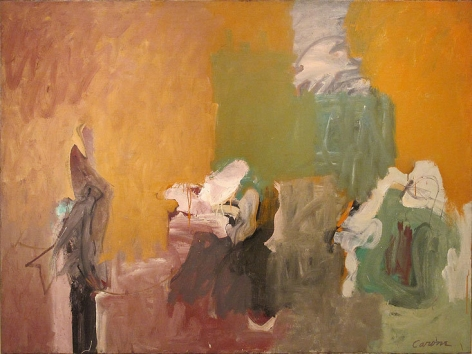 Idol, 1958, oil on canvas, 54 x 72 in.