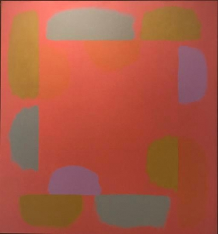 Untitled, c. 1976-77, oil on canvas, 55 x 51 in.